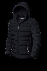 Куртка Kiro Tokao молодежная  черного цвета