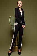 Черный женский костюм Новара Jadone  42-48  размеры