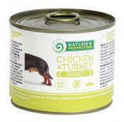 Консервы для собак Nature's Protection Adult Chicken & Turkey