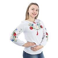 Вышиванка женская ручная робота белая