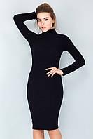 Платье гольф черного цвета
