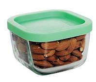 Набор стеклянных емкостей для хранения пищевых продуктов 4 шт по 270 мл Gurallar Art Craft 31-146-202