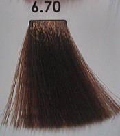 6.70 Темно-Русый Коричневый Экстра, крем-краска для волос Luxor Color