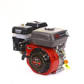 Двигатель бензиновый BULAT BW170FQ (шпонка, вал 19 мм, 7л.с.) (Weima 170)