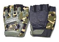 Перчатки тактические Mechanix MPACT (без пальцев) камуфляж