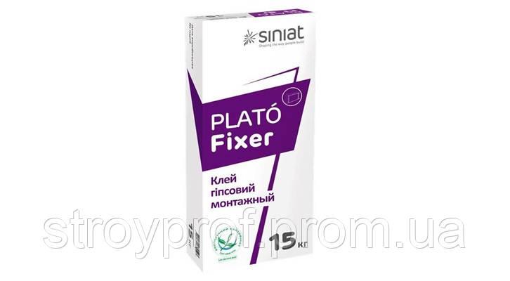 Гипсовый клей Plato Fixer 15кг.