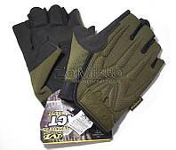 Перчатки тактические Mechanix MPACT (без пальцев) зеленые