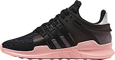 Женские кроссовки Adidas EQT Support Adv Black Pink