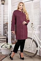Пальто женское букле стильное размеры с 44 по 62