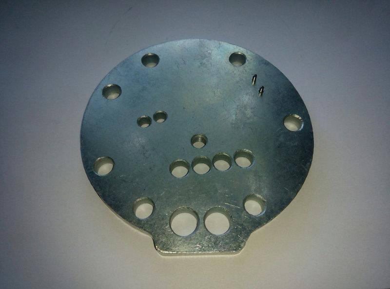 Плита компрессора A091/A092/А093 E1/E2/E3 (MО076.102) MAPO, фото 2