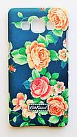 Чехол на Самсунг Galaxy A5 A500H Cath Kidston стильный Пластик Розы, фото 1