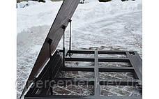 Весы платформенные с откидной платформой 4BDU1500-1215ВП-П практичные 1250х1500 мм (до 1500 кг), фото 2