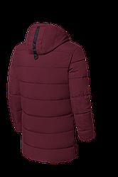 Зимняя куртка бордового цвета,хорошего качества