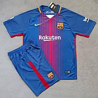 Детская игровая форма Nike FC Barcelona  2017-18