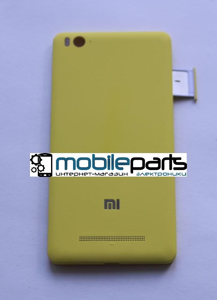Оригинальная задняя панель (крышка) для Xiaomi Mi4c | Mi4i (Желтая)
