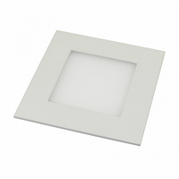 Светильник встраиваемый LED 6W 4200К квадрат