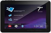 Сенсорная панель (Touch Screen) Explay Surfer 7.02, Surfer 7.04, Onda V701s, V702, V711, Texet TM-7024 Black