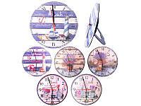 """Часы настенные керамика """"Микс"""" 25*25см, MС1776"""