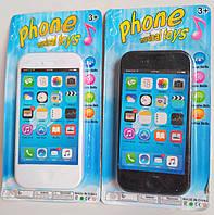 Музыкальный игрушечный телефон, мобильный детский телефон, цвета в ассортименте