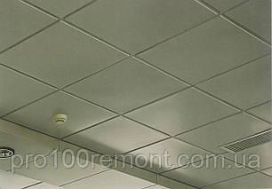 Кассетный плита армстронг 600х600мм белая без кромки, фото 2