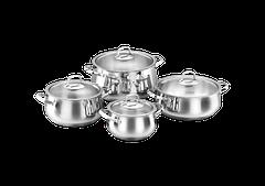 Набор посуды из 8 предметов Korkmaz A1626
