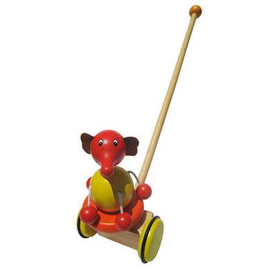 "Каталка ""Слоник"", Wooden Toys"