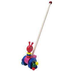 """Каталка """"Гусеница"""", Wooden Toys"""