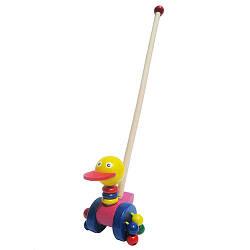 "Каталка ""Птичка"", Wooden Toys"