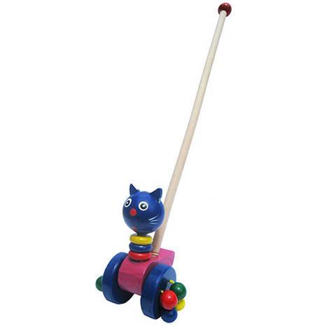 """Каталка """"Кошечка"""", Wooden Toys"""