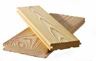 Пол из лиственницы, массивная доска лиственница, фото 1