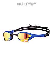 Зеркальные очки для плавания премиум класса Arena Cobra Ultra Mirror (Blue Revo), фото 1