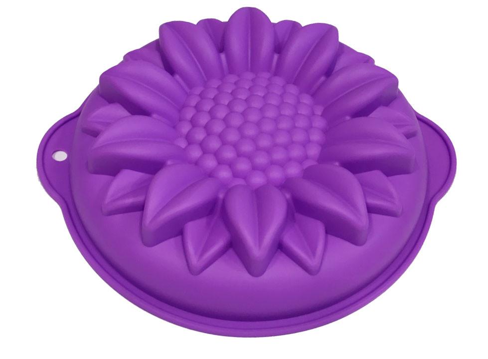 Форма силиконовая для выпечки Подсолнух 24 см