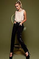 Черные женские брюки Империал Jadone Fashion 42-48 размеры