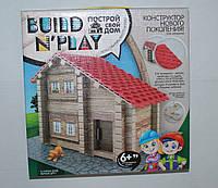 """Конструктор нового поколения """"BUILD'N'PLAY"""" Построй свой дом (мягкие детали), Danko Toys, 11745"""