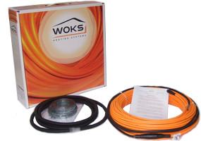 Woks-17 - 98 м (1740 Вт) нагрівальний кабель двожильний екранований (Одескабель)