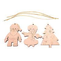 Деревянные новогодние игрушки, Зірка