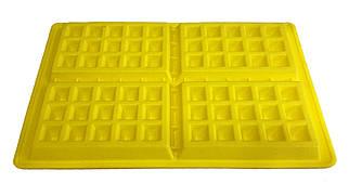 Форма силиконовая для выпечки Вафли 4 шт