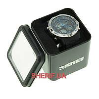 Часы Skmei 1110 Steel-Blue BOX
