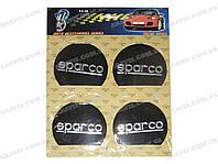 Наклейка на колпаки KS-99 Sparco (набор)