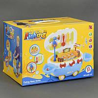 """Игровой набор 668-47 """"Катер"""" (12) 25 предметов, свет, звук, на батарейке, в коробке"""