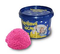 """Набор для творчества """"Волшебный песок"""" (розовый, 0.5 кг), ТМ Strateg, 312-3S"""