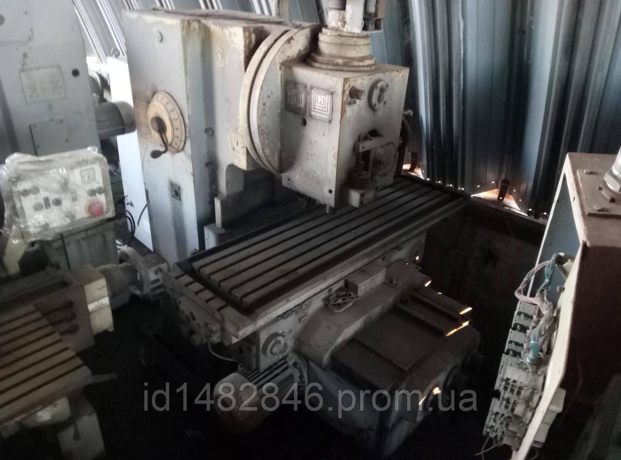 Станок консольно-фрезерный вертикальный Heckert fss400/2 ps