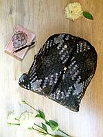 Городской женский рюкзак из кожзама