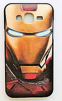 Чехол на Самсунг Galaxy J5 J500H My Color Силикон Железный человек, фото 1