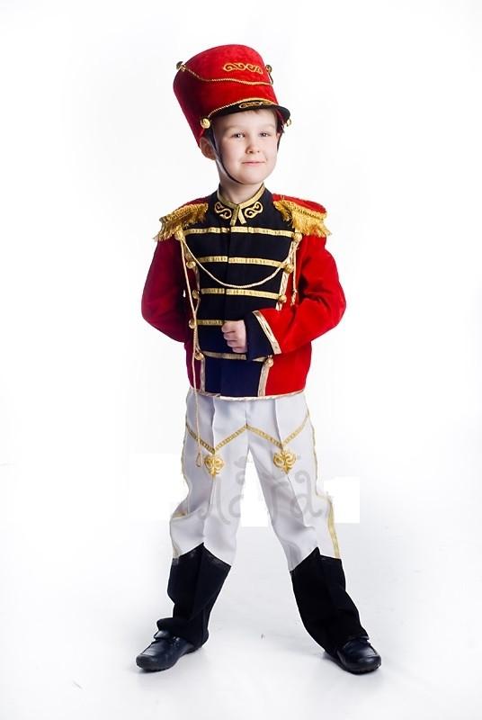 Гусар исторический костюм для мальчика \ Размер 98-104; 110-116; 122-128; 134-140; 146-152 \ BL - ДС26