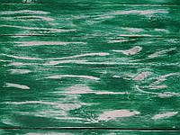 Фотофон деревянный зеленый с белыми прожилками