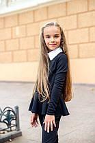 Школьный костюм для девочки (кофта+брючки), фото 3