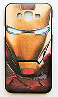 Чехол на Самсунг Galaxy J7 J700H My Color Силикон Железный человек