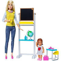 Barbie Career Teacher Doll and Playset Учитель и девочка DMR41 Mattel (Вчитель і дівчинка)