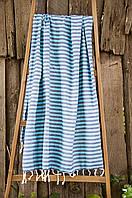 Полотенце-пештемаль пляжное Yeni Herringbone 100х185 синий Barine